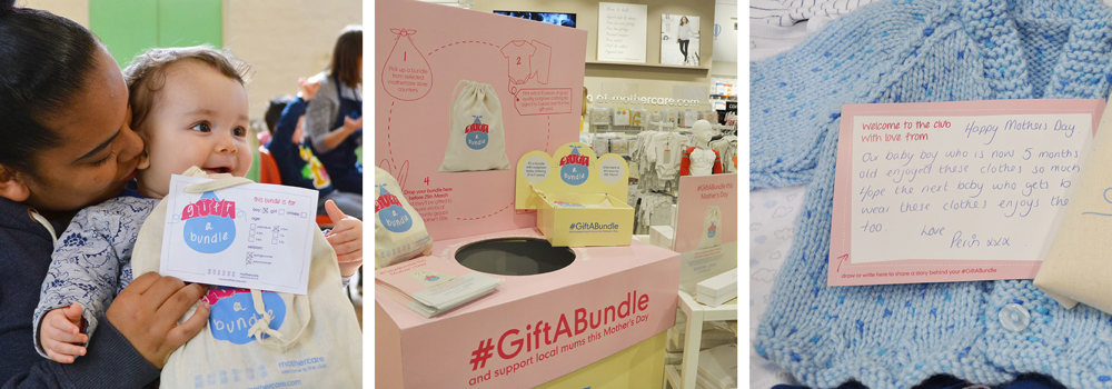 41fc0965 Gifting on outgrown baby clothing with #GiftABundle | Hubbub Foundation