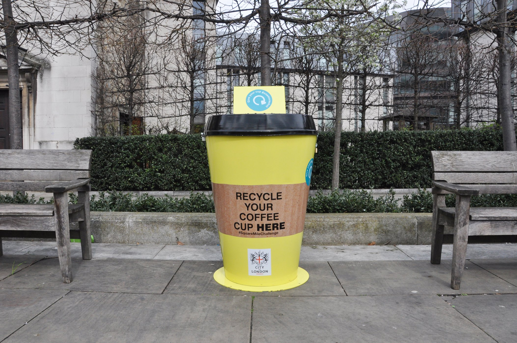 4b74daed13 6) Industry needs to close the loop. There is no point collecting coffee  cups for recycling ...