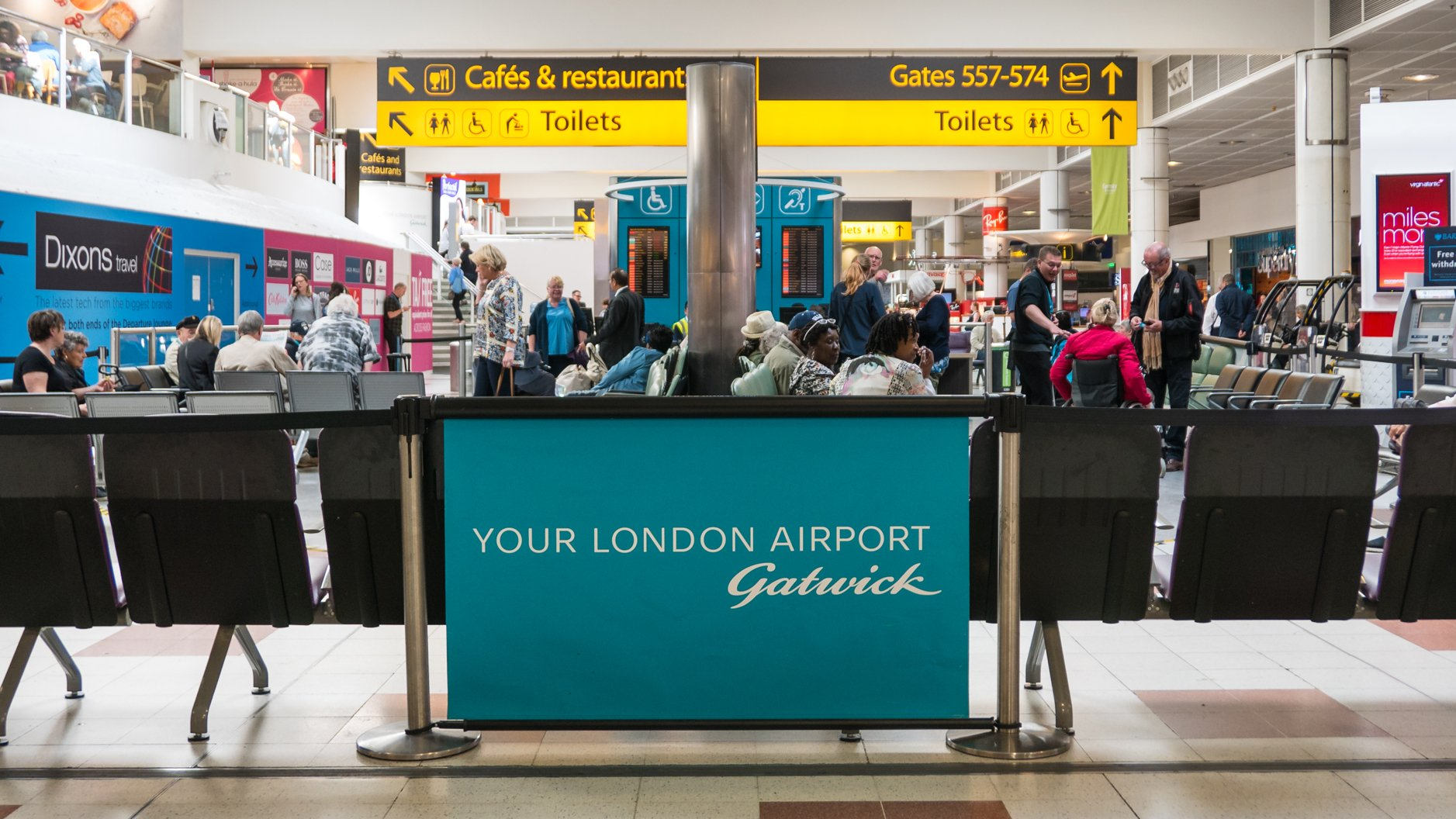 Gatwick Airport launches pioneering reusable cup trial
