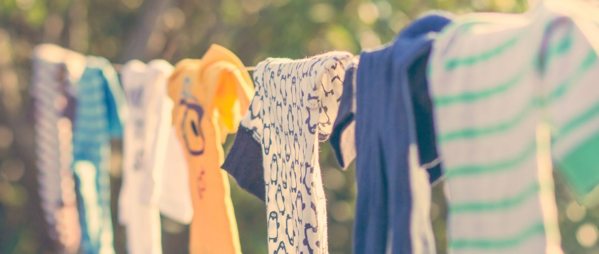 5 ways to care for kids' clothes