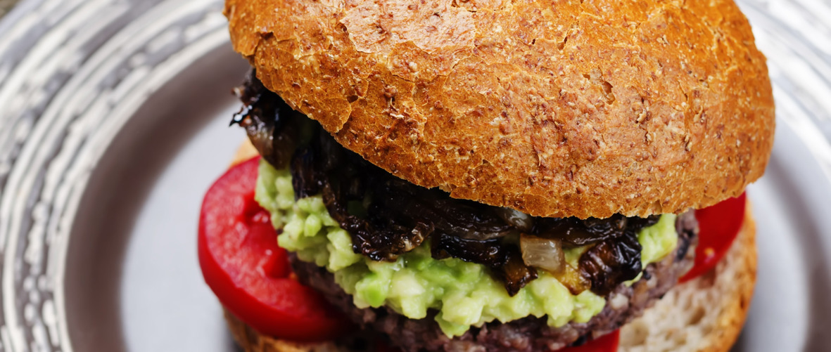 Daphne's black bean burger