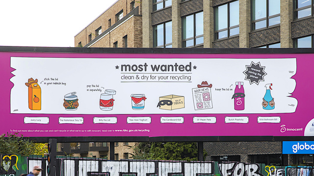 Juicy new communications campaign launches in Kensington and Chelsea